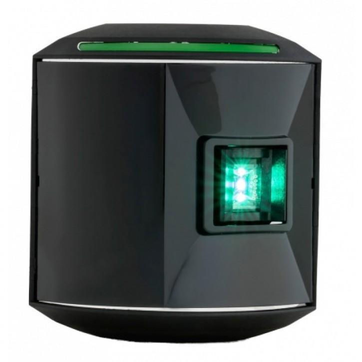 Aqua Signal Serie 43 Steuerbord LED 10-30V