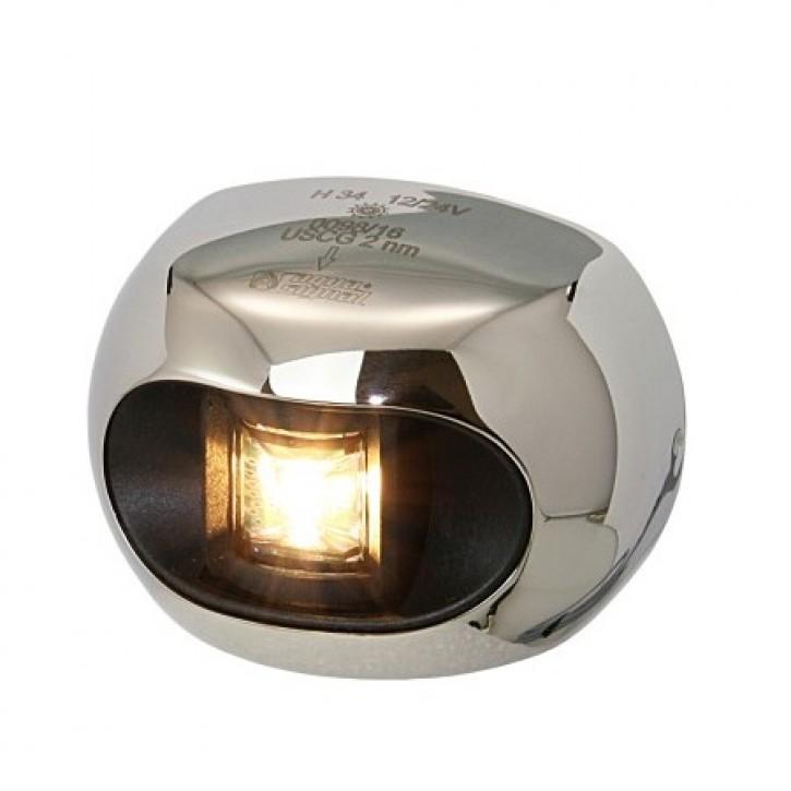 Serie 34 LED Heck-Laterne mit Edelstahlabdeckung