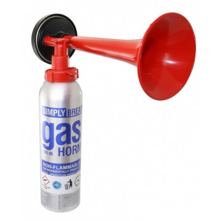 Signalhorn mit Gaskartusche