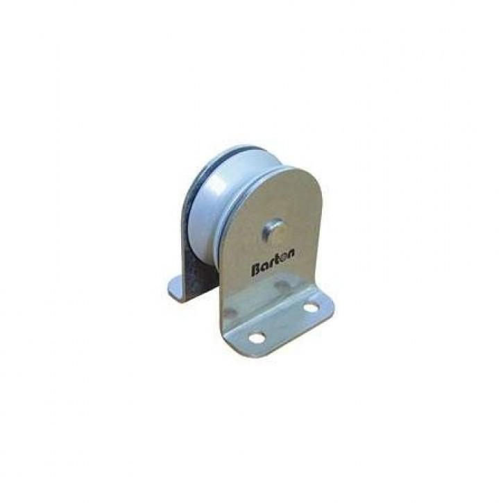 Einf. Standumlenkrolle Aluminiumscheibe 38 mm