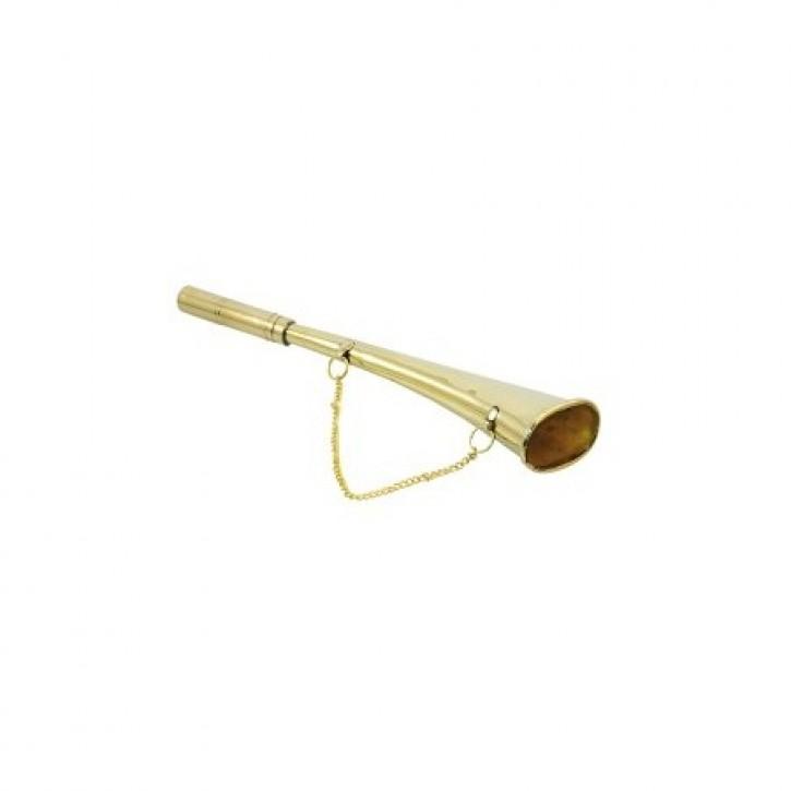 Signalhorn gerade aus Messing 145 mm