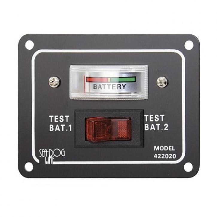 Batterietestschalter aus anodisiertem Aluminium