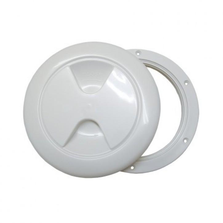 Inspektionsdeckel weiß 170 mm