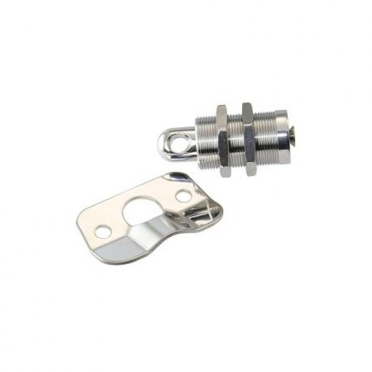 Backskistenverschluss aus Edelstahl bis 19 mm