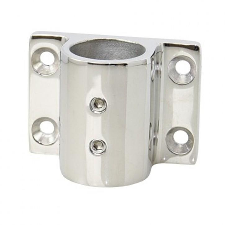 Rohrhalter 25 mm mit 2 Madenschrauben