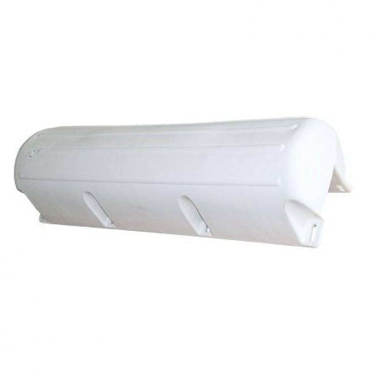 Bumper Stegfender 885 X 270 mm  weiß Spez. Kante