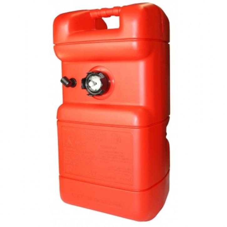 Benzintank 22 Liter mit Anzeige