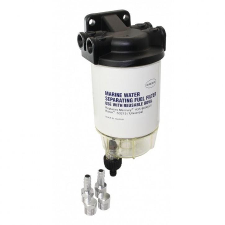 Treibstofffilter-Wasserabscheider Aluminium