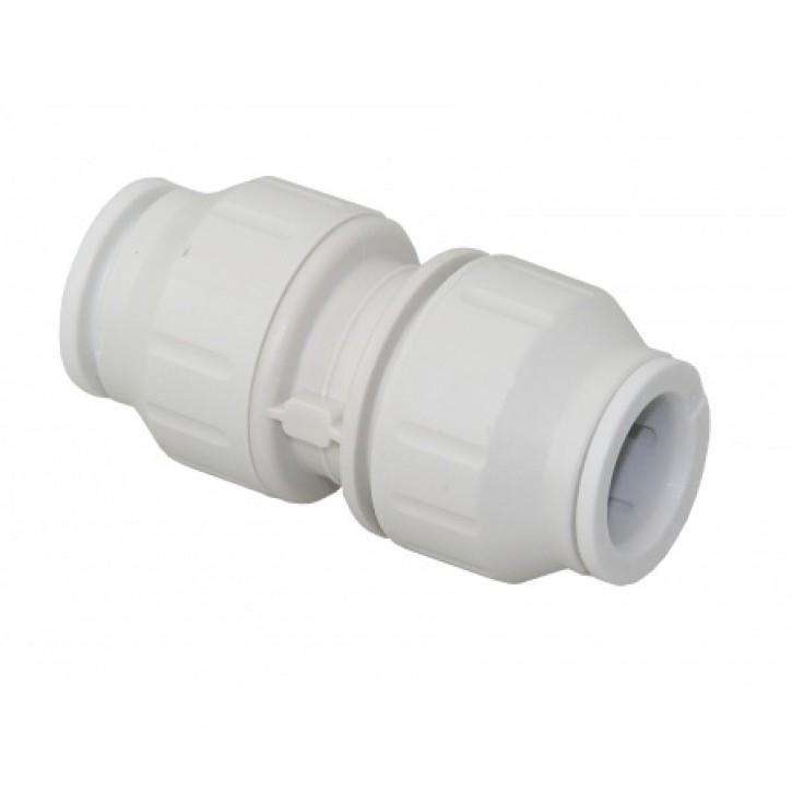 SPEEDFIT 15  Muffe / gerader Verbinder, 15 mm VP a. 2 Stück
