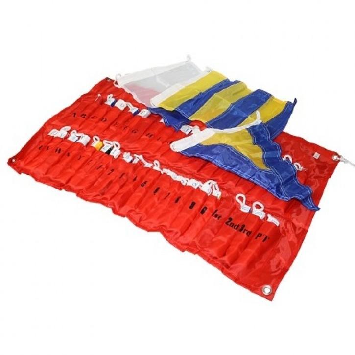 20 X 30 cm Signalflaggensatz Nylon mit Tasche