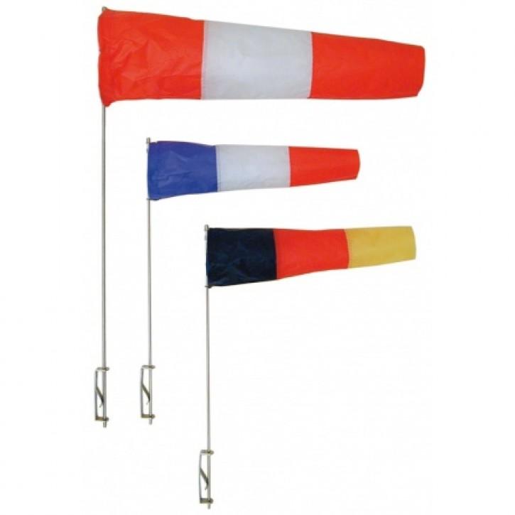Flögel mit Seitenhalter und Tuch Ø 60  dreifarbig pro.Stk.