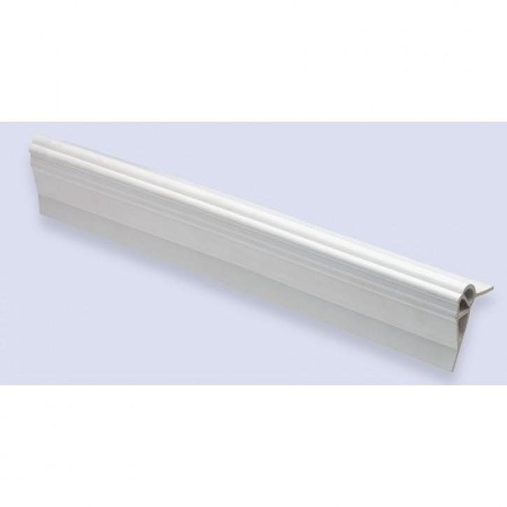Poyform Stegfender lang mit offenen Enden weiß pro Stk.