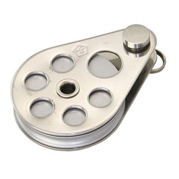 Wichard Block 24 mm mit Aluminiumscheibe für 3 mm