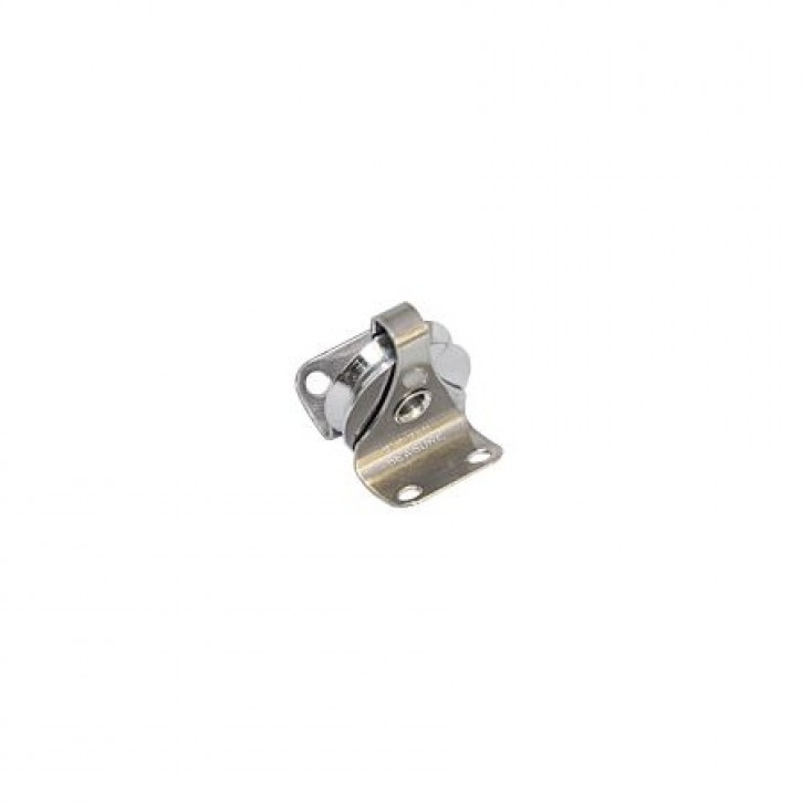 Drahtfall-Mastrolle für Profil 25 x 6mm Messing verc.
