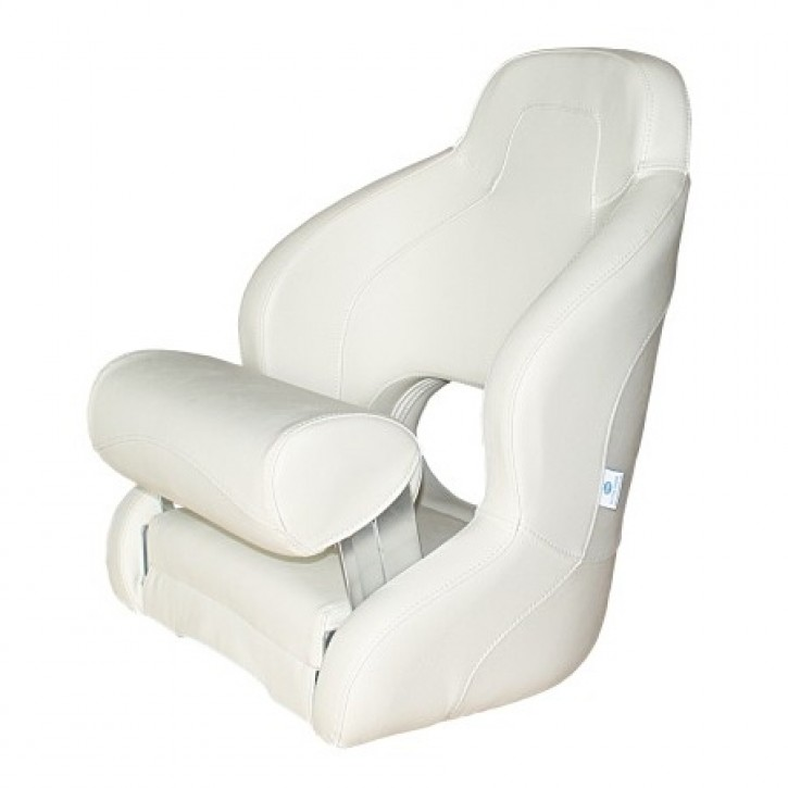 Bootssitz weiß/weiß Flip-Up