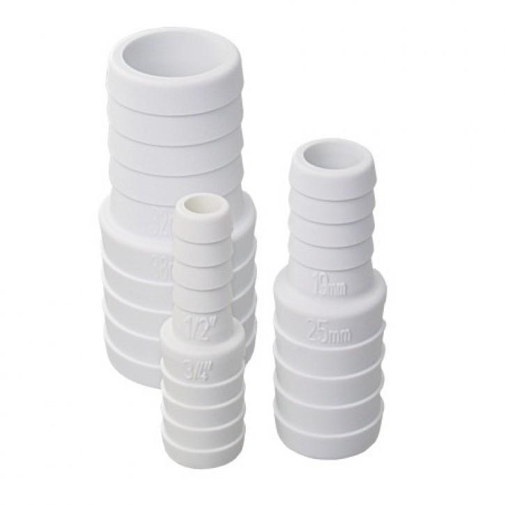 Schlauchverbinder von 19 mm auf 13 mm pro Stk.