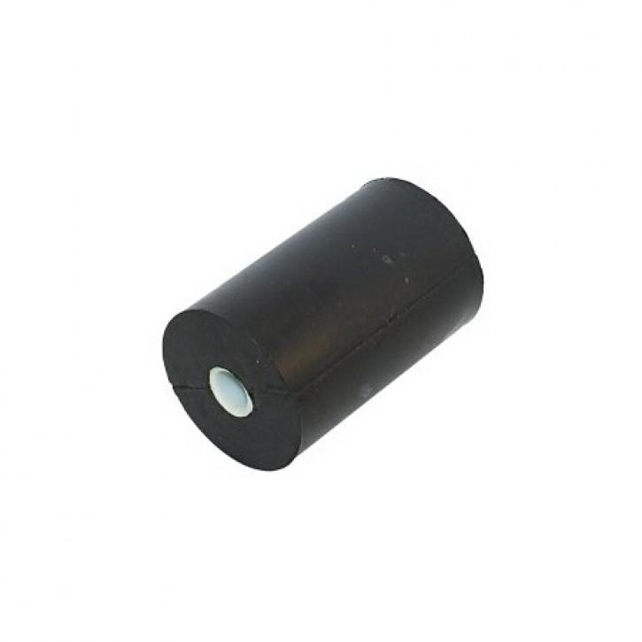 Seitenrolle Gummi schwarz Länge 100 mm