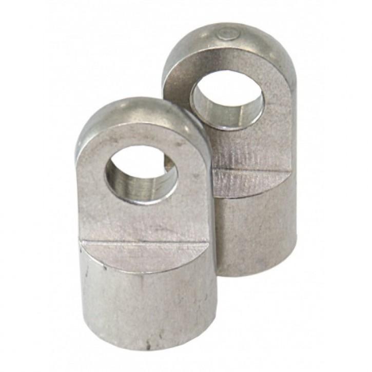 Endstücke für Gasdruckdämpfer pro Paar