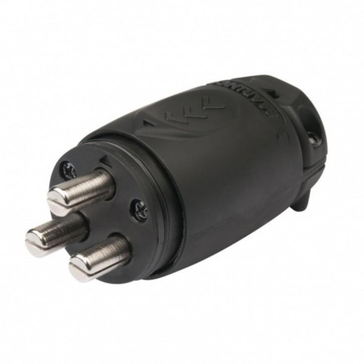 Steckverbindung für 12 bis 48 V Stecker