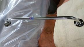 Neuer Handlauf 600 mm Edelstahl  2 Stück