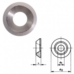 Edelstahl Rosetten für 5mm Senkkopfschrauben