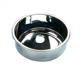 Waschbecken Edelstahl zylindrisch Ø 300 mm