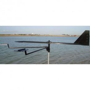Hawk Windanzeiger ca. 26 cm schwarz