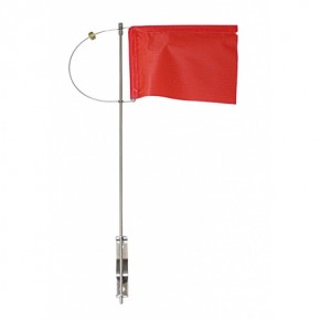 Verklicker 150 mm rot mit Seitenh u Gegengew.