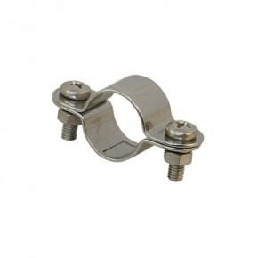 Edelstahl Rohrschelle für 30 mm