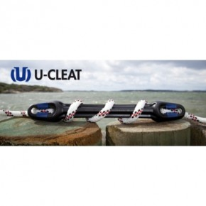 Ruckdämpfer U-Cleat für Tauwerk 10-12 mm pro Stk.